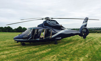 Helicopter In Scotland