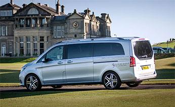 Links Golf St Andrews Mercedes V-Class Vehicle