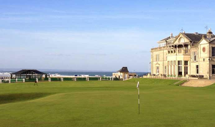 2018 British Seniors Open at St Andrews