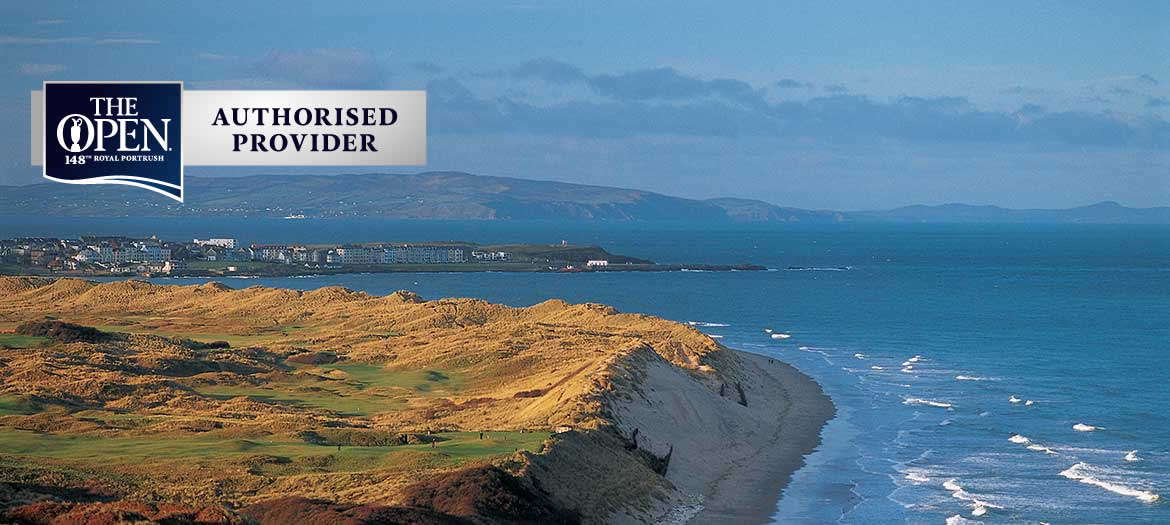Royal Portrush 2019 Open Packages