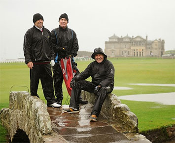Bad Weather on The Old Course