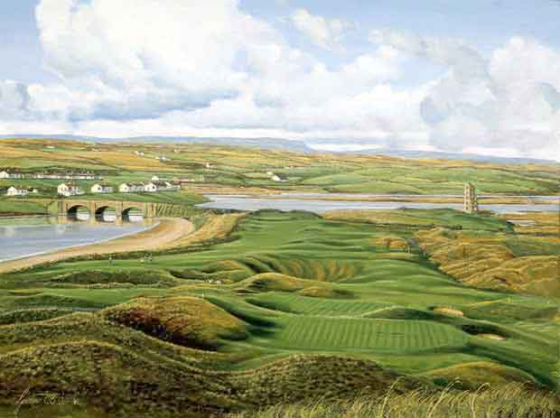 Lahinch Golf Club, Ireland. Graeme Baxter Print.