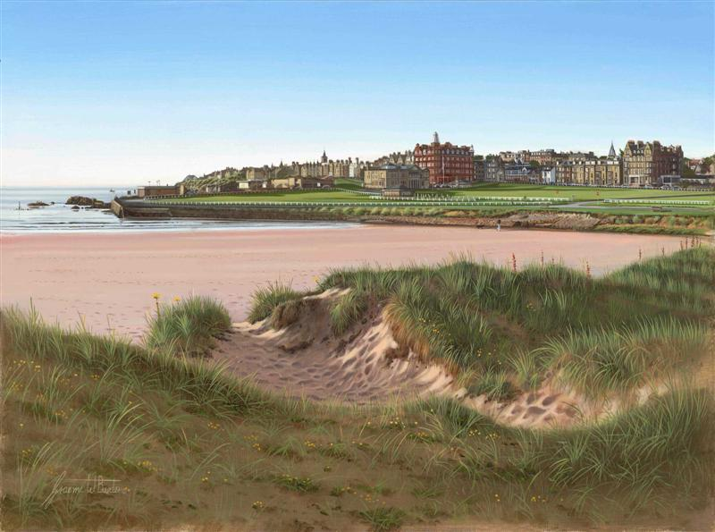 St Andrews, West Sands, Scotland. Graeme Baxter Prints.