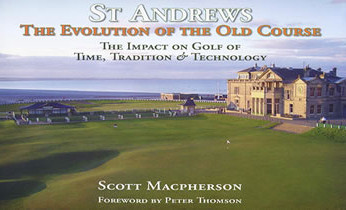 The Evolution of the Old Course Book for sale