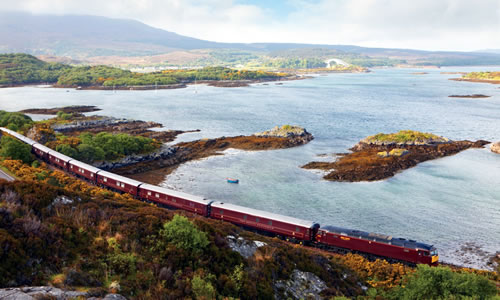 Royal Scotsman Train Journey