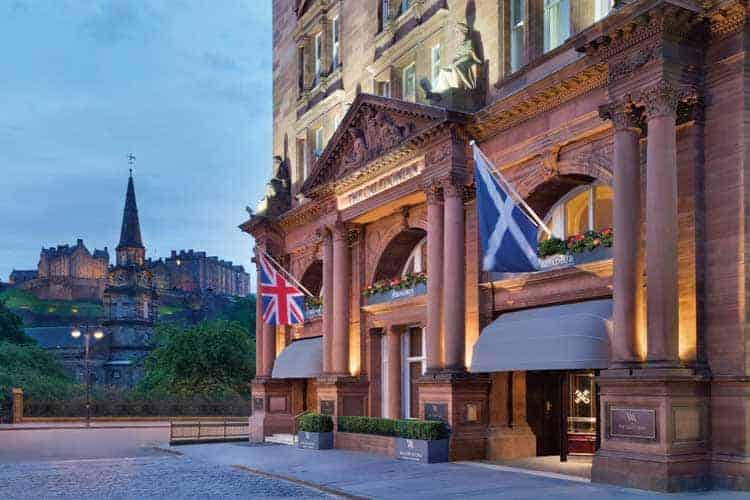 Caledonian Edinburgh Hotel St Andrews 2021 Open Tickets Accommodation