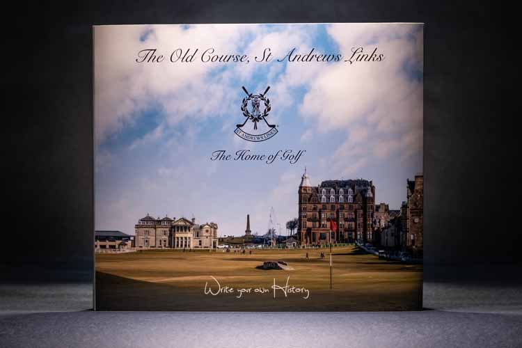 Handmade Photo Book St Andrews Links Official Photo Service
