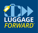 Luggage Forward Logo - Golf Club Shipping to Scotland