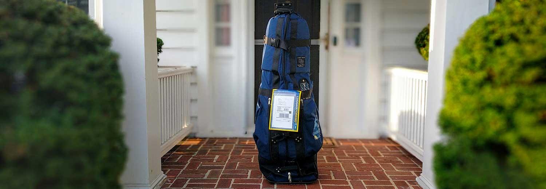 Golf Club Shipping Luggage Forward Links St Andrews
