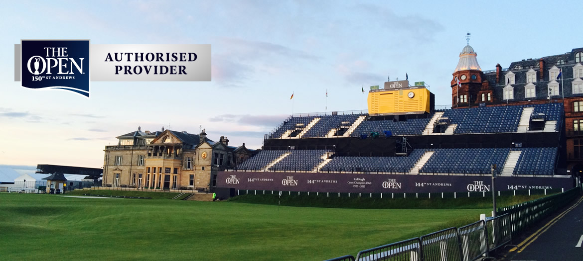 St Andrews 2022 Open Packages