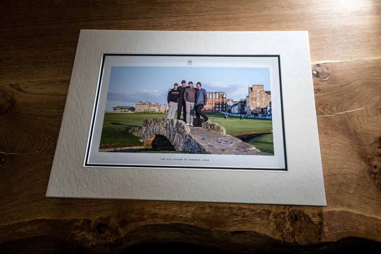 St Andrews Links Official Photo Service Print Small