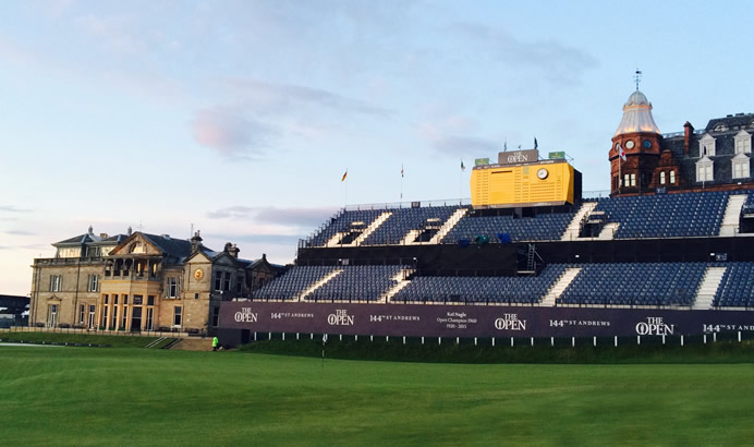 old course st andrews to host 2018 senior open championship